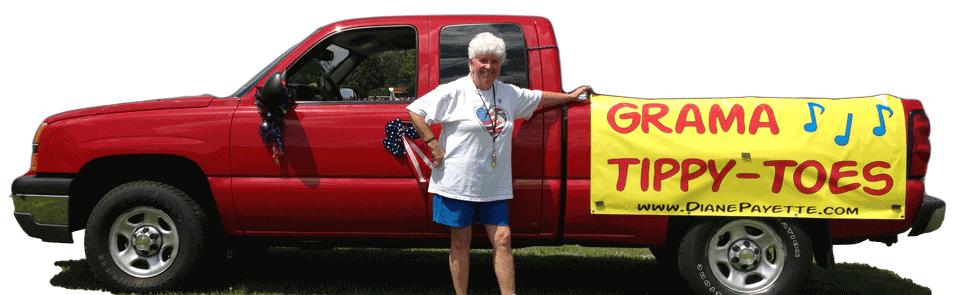 Grama Tippy Toes Truck